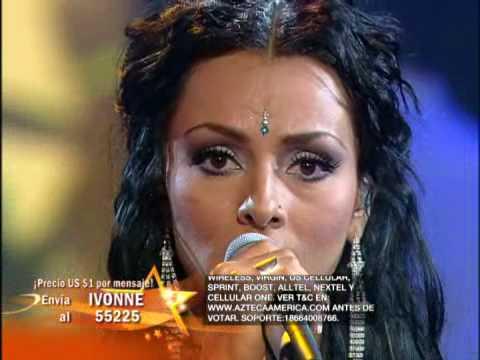 Ivonne Montero canta el tema de su telenovela Secretos del Alma