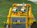 "Diggedy Dozer in ""Treetop Troubles"" - Bulldozer & Truck Construction Videos Cartoons Animated Kids"