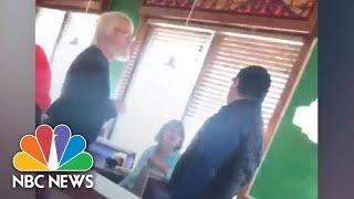 White Customer To Spanish-Speaking Manager: Get Out Of My Country | NBC News - NBCNEWS