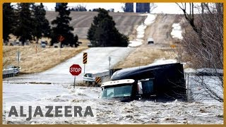 🇺🇸 Six US states reeling as rivers rise to record levels | Al Jazeera English - ALJAZEERAENGLISH