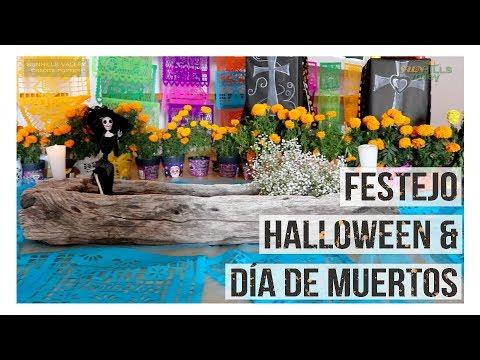 Festejo Halloween y Día de Muertos 2018
