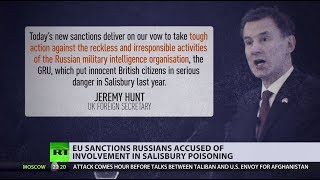 EU slaps sanctions on chief of Russia's military intelligence GRU over Skripal case - RUSSIATODAY