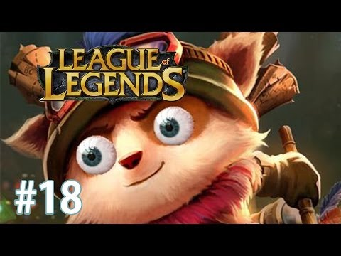 Let's Play League of Legends - #018 - Teemo TOP und das auf RANKED?