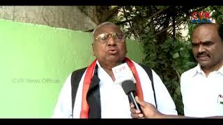 Face to Face with V. Hanumantha Rao over Sonia Gandhi Telangana Election Campaign | CVR NEWS - CVRNEWSOFFICIAL