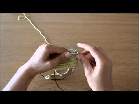 Curso tricot - Querido tricot: rematar as malhas (bind off)