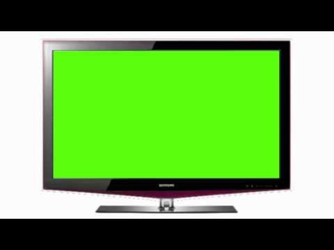 Green Screen Flat Screen Television (HD 1080p) - GreenScreen4U