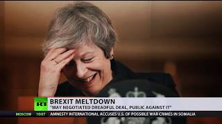 Theresa May confirms that UK will not be able to leave EU with a deal in time - RUSSIATODAY