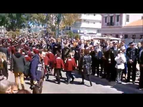 25η Μαρτίου 2014 - Μαθητική Παρέλαση - Λαύριο