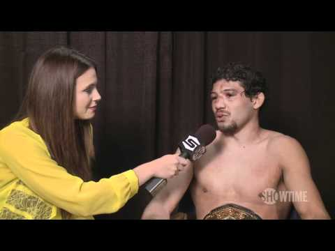 Gilbert Melendez - Post Jorge Masvidal Interview - Strikeforce: Melendez vs. Masvidal - SHOWTIME MMA