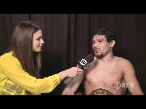 Gilbert Melendez - Post Jorge Masvidal Interview - Strikeforce: Melendez vs. Masvidal - SHOWTIME MMA