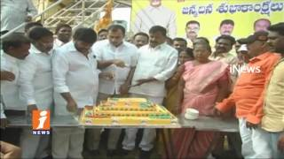CM Chandrababu Naidu Birthday Celebrations in Anantapur Distract | iNews - INEWS