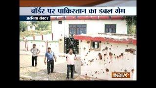 Pakistan violates ceasefire in Jammu's Arnia sector - INDIATV