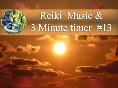 Reiki Music with 3 Minutes Bell; Reiki Timer; Tibetan bowl Meditation Music; Healing Music 💜