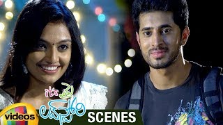 Nikitha Narayan Surprises Arvind Krishna | Its My Love Story Movie Scenes | Vennela Kishore - MANGOVIDEOS