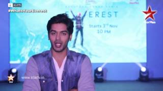 Everest on STAR Plus: Rohan on landing the role of Aakaash Joshi! - STARPLUS