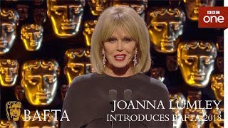 The FABULOUS Joanna Lumley introduces the BAFTAs - The British Academy Film Awards: 2018 - BBC One - BBC