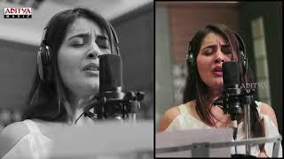 Raashi Khanna Singing Thariraa Song    Making Video    Balakrishnudu Songs    Mani Sharma - ADITYAMUSIC