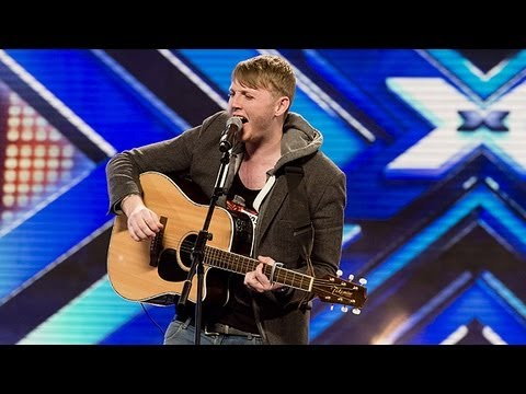 James Arthur s audition Tulisa s Young The X Factor UK 2012