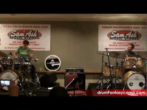 Jam Night 2012: Keith Carlock and Dave Weckl