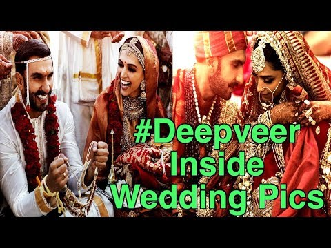 Deepika Padukone, Ranveer Singh All Wedding Photos | bollywood News & gossips