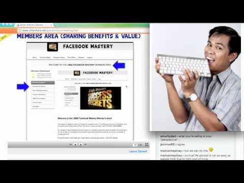Facebook Marketing Strategy 3Rs Webinar Featuring JayMclean VIDEO by Jomar Hilario