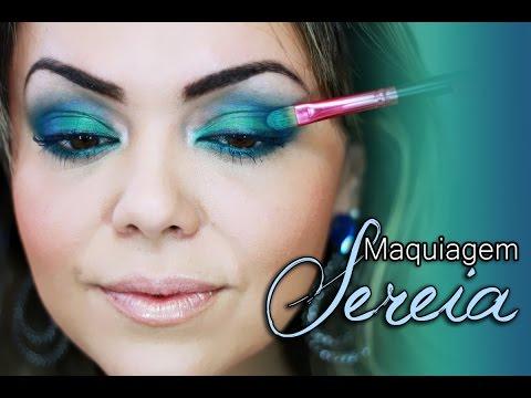 Maquiagem Sereia - Sereias Urbanas
