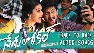Nenu Local Back To Back Video Song Trailers - Nani, Keerthy Suresh - DILRAJU