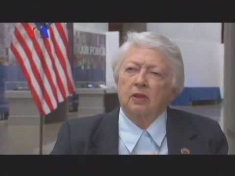 Interview with Brig. Gen. (Ret.) Wilma Vaught - Sarah Zaman - Urdu VOA