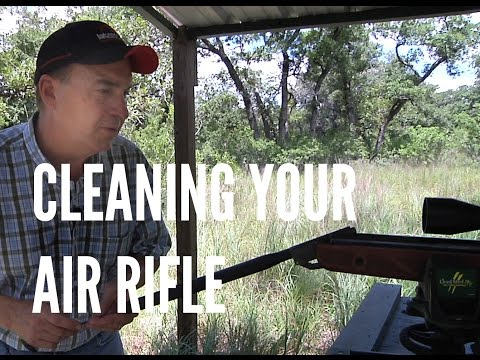 Tips for Cleaning your Air Rifle