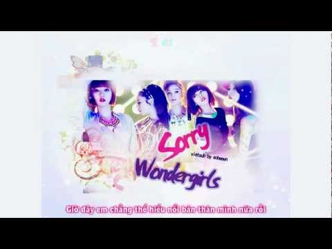 [SHVN][Vietsub] Sorry - WonderGirls [ Album Wonder Party ]