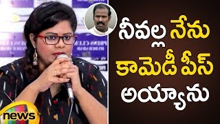 Anchor Swetha Reddy Accused KA Paul For Passing Degrading Comments | AP Latest News | Mango News - MANGONEWS