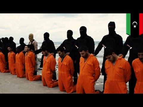 Des militants de l'ÉI décapitent 21 chrétiens égyptiens en Libye