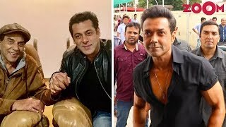 Dharmendra Thanks Salman Khan For Bobby Deol's Bollywood Comeback With 'Race 3' - ZOOMDEKHO