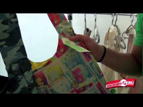 Bolsos Ecologicos Reciclados de Botellas plásticas en Gamarra Lima Peru