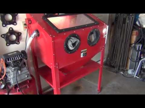 Review: Harbor Freight Blast Cabinet
