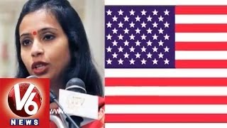 Indian Diplomat Devyani's Arrest Protested In Loksabha - V6NEWSTELUGU
