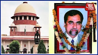 SC Takes Over Bombay HC Cases, Stops HCs From entertaining Judge Loya's Death Case - AAJTAKTV