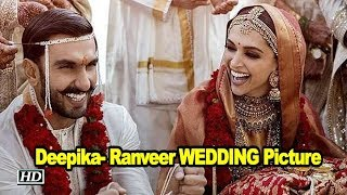 Deepika- Ranveer WEDDING Pictures | Both looking so much in LOVE - IANSLIVE