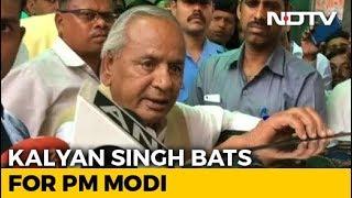 """Society Needs PM Modi"": Governor Kalyan Singh Channels BJP Karyakarta - NDTV"