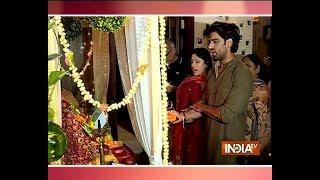 Mohit Malik, Aditi Shirwaikar and other TV stars bid adieu to Ganpati Bappa - INDIATV