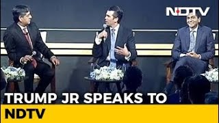 Dad Being President Not Good For Business: Donald Trump Jr To NDTV - NDTV