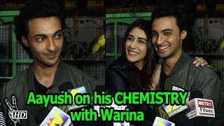 Aayush Spoke about his CHEMISTRY with Warina | LOVEATRI - BOLLYWOODCOUNTRY