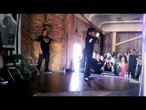Bboy Summit 2014 - Pop Locking OG Demo