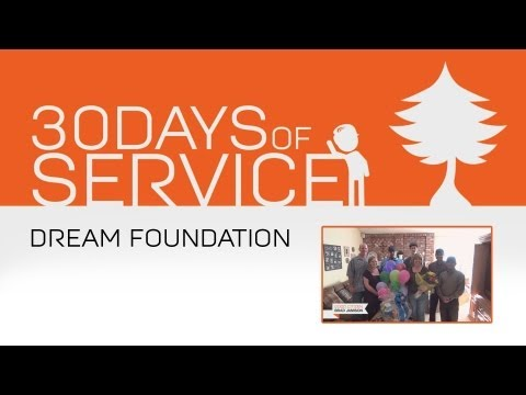 30 Days of Service by Brad Jamison: Day 4 - Dream Foundation