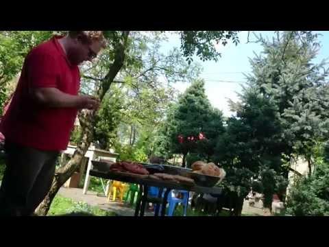 Test jednorazowego grilla