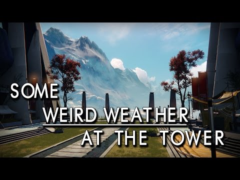 I didn't even know there is weather like this in Destiny (40 sec)