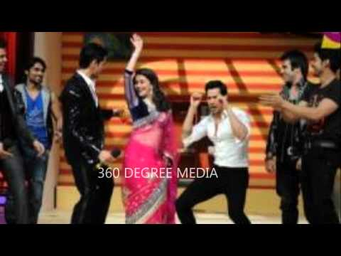 Siddarth Malhotra Varun Dhawan have Fun with Madhuri Dixit on Jhalak Dikhla Ja Finale