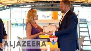 Liberland in former Yugoslavia promotes no-man's land tourism - ALJAZEERAENGLISH