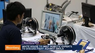Can Robots Win the Fight Against Ebola? - BLOOMBERG