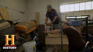 American Pickers: Frank and Robbie Pick a Train Depot (Season 20) | History - HISTORYCHANNEL